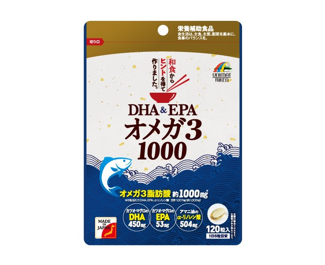 DHA&EPAオメガ3 1000